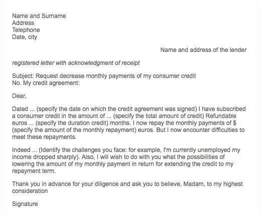 Sample Letter Request Payment - RESUMEDOC
