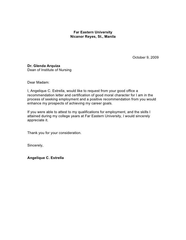 Tenant Recommendation Letter Sample. Sample Recommendation Letter ...