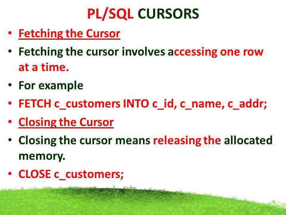 PL/SQL. - ppt video online download