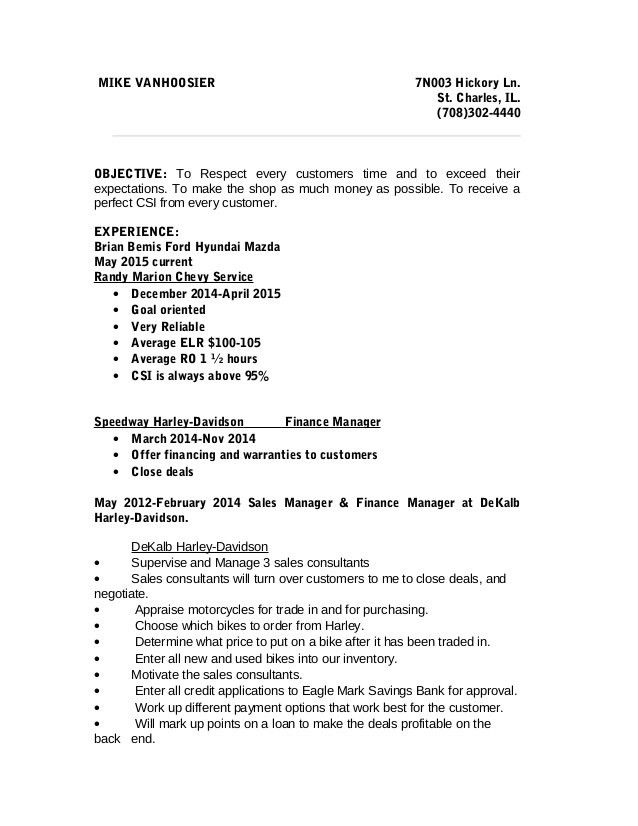 Mike Service writer resume