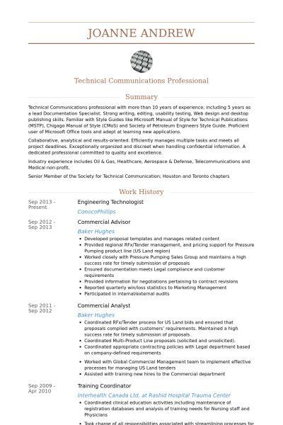 Engineering Resume samples - VisualCV resume samples database