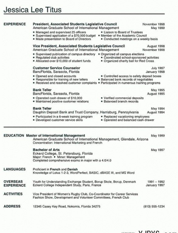 Good Bartender Resume Objective. bartender resume objective ...