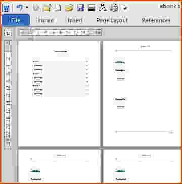 7+ booklet template microsoft word - bookletemplate.org