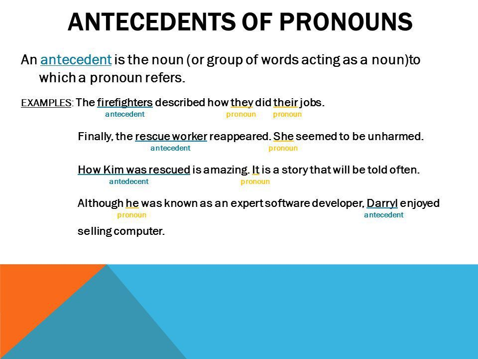 Nouns and pronouns. - ppt video online download