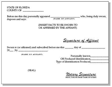 Sworn Statement Templates. Legal Financial Statement Template ...