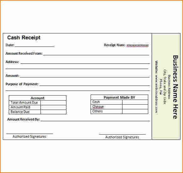 7 paid receipt | Printable Receipt