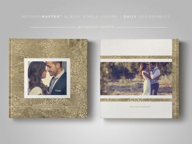 Wedding Photography Album Template | Simple Luxury