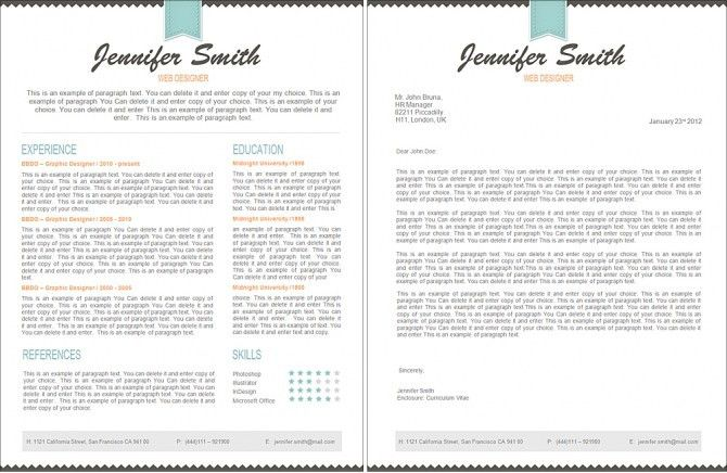 Impressive Ideas Resume Template Pages 2 - CV Resume Ideas