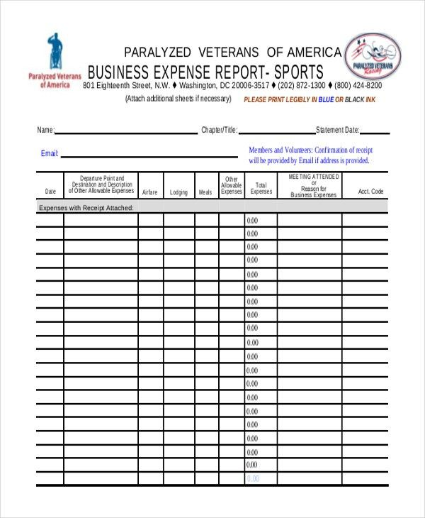 Expense Reports Sample. Best 25+ Sample Of Business Letter Ideas ...