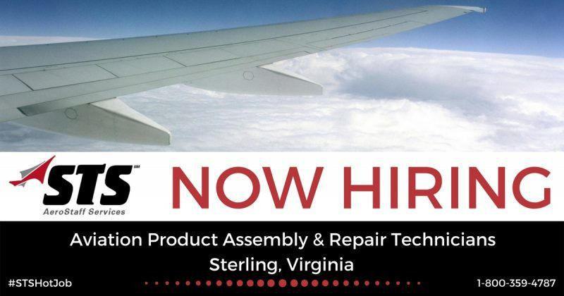 STS Now Offers Aviation Product Assembly & Repair Technician Jobs ...
