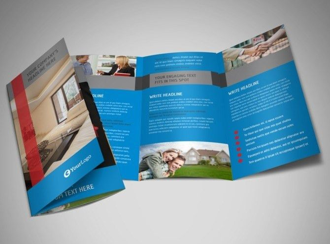 Residential Real Estate Flyer Template | MyCreativeShop