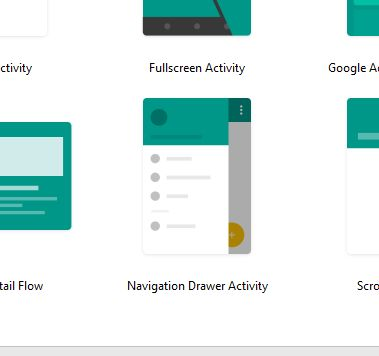 Change color of Navigation Drawer Icon in Android Studio default ...