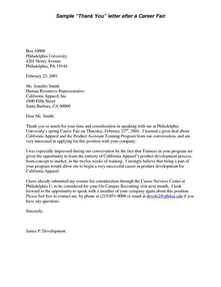 Cover Letter For Career Fair Writing Cover Letters Career Change
