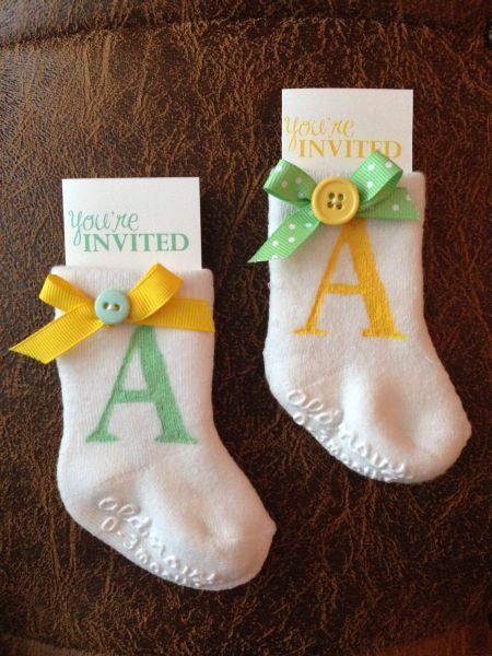 Homemade Baby Shower Invitations – gangcraft.net