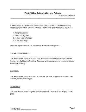 Free Photo/Video Consent Agreement (Canada) - Legal Templates ...