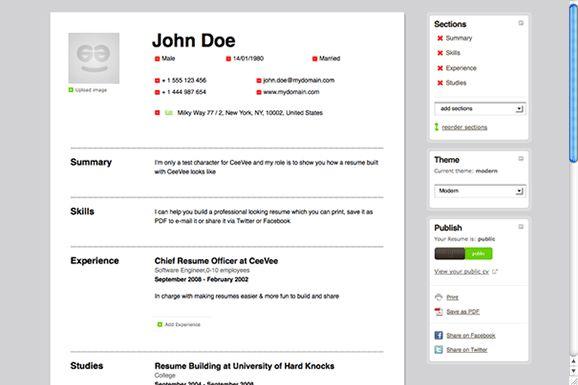Free Resume Maker Make Your Resume Online. To Make Resume Online .