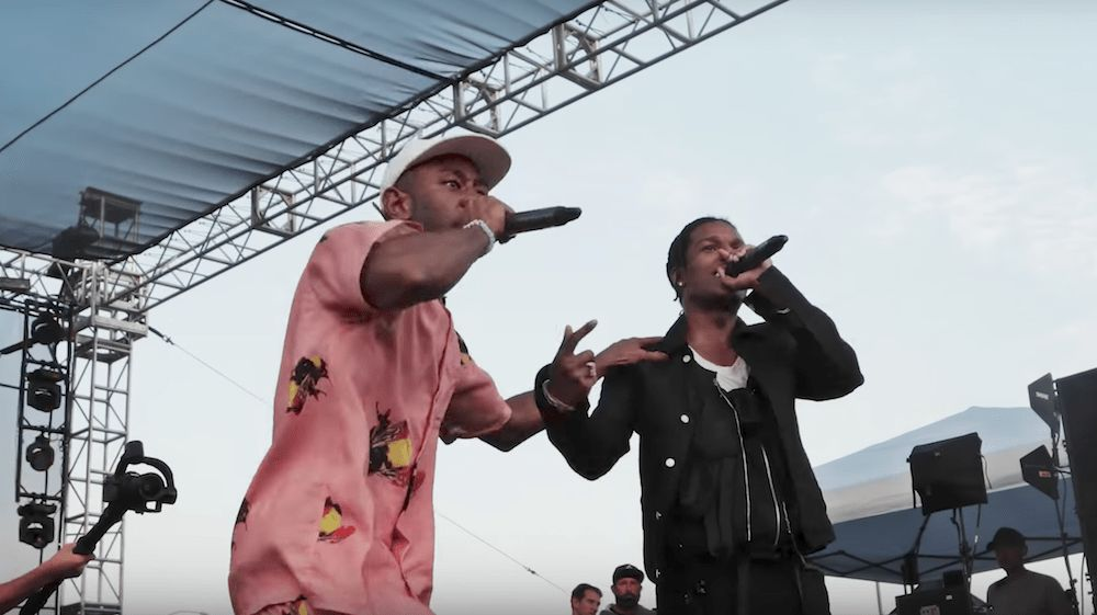 "Watch Tyler, the Creator and A$AP Rocky Perform ""Who Dat Boy"" at ..."