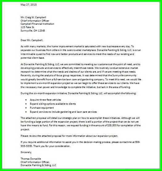 how to write a business proposal cover letter operations cover ...