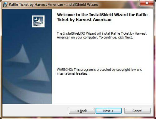 Raffle Ticket Software Installation Guide - Raffle Ticket Software