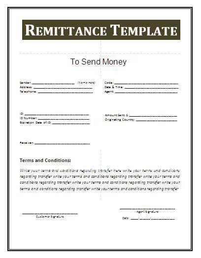 Remittance Template. Simple-Template-Invoice-With-Remittance-Slip ...
