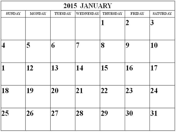 Best 25+ January 2015 calendar ideas only on Pinterest | 2015 and ...