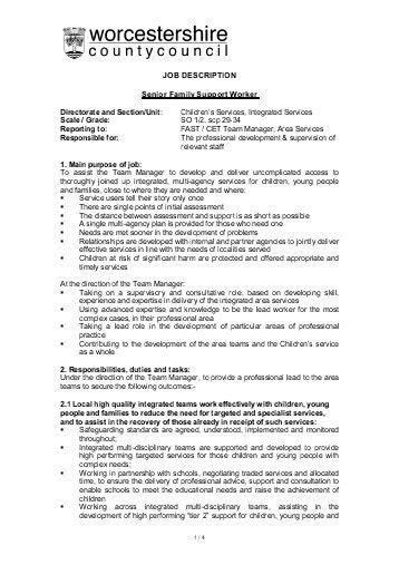 Team Lead Job Description. Team Leader Self Appraisal Job ...