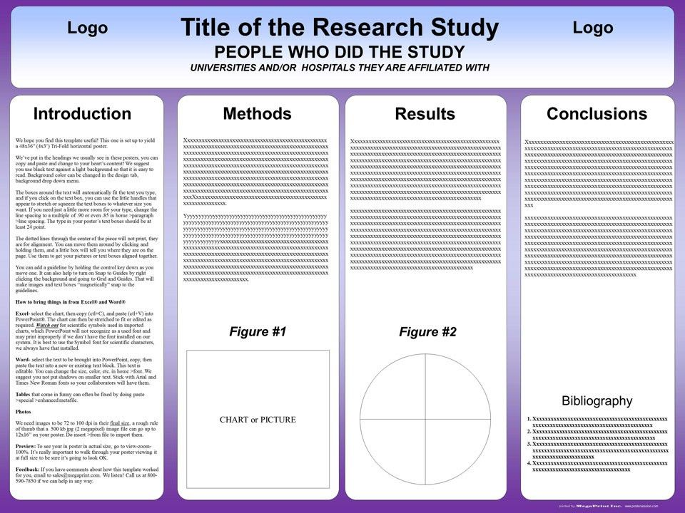 Poster Presentation Template In Word - Pet-Land.info