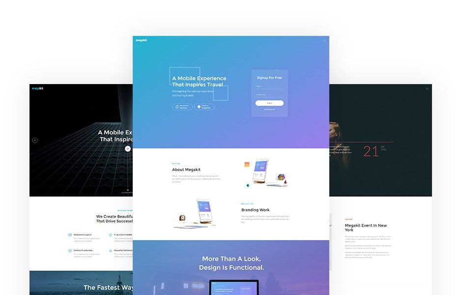 Free Bootstrap Templates for Websites | KeenThemes.com