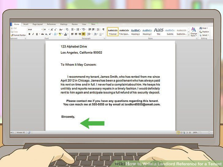 How to Write a Landlord Reference for a Tenant: 13 Steps