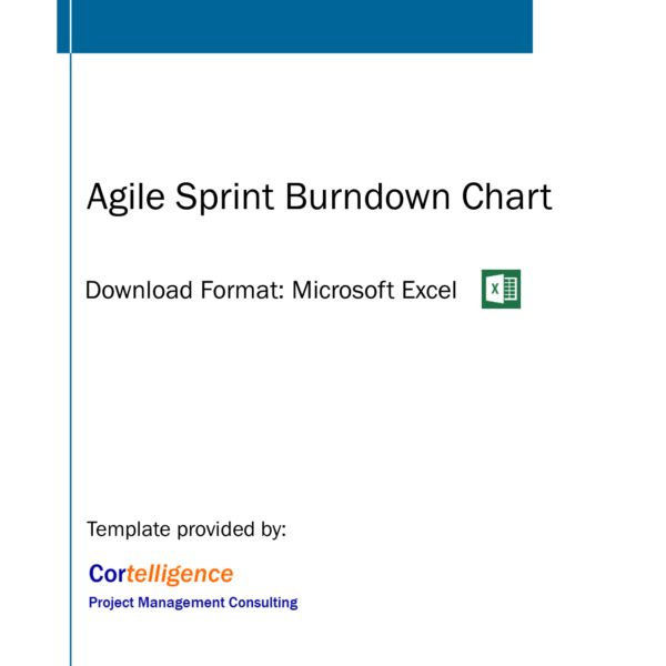 Sample Chart Templates » Scrum Burndown Chart Excel Template ...