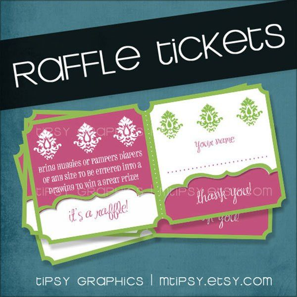 7+ Raffle Ticket Templates - Word Excel PDF Formats