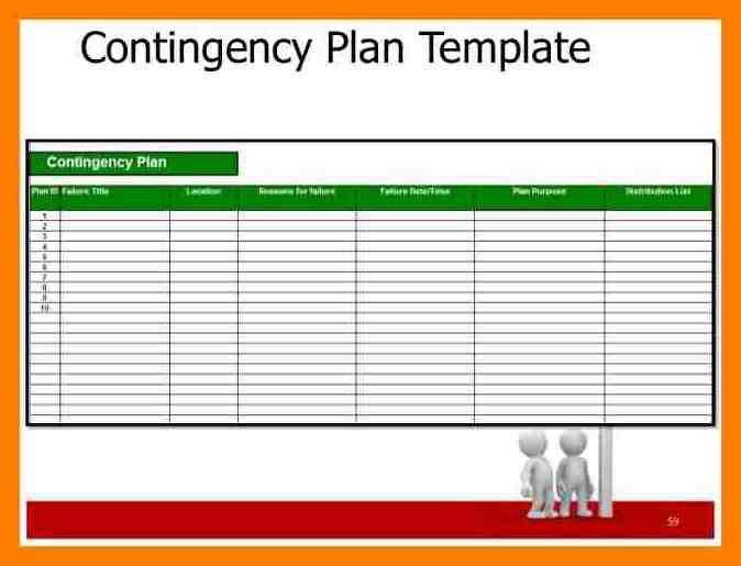 10+ contingency plan template project management | joblettered