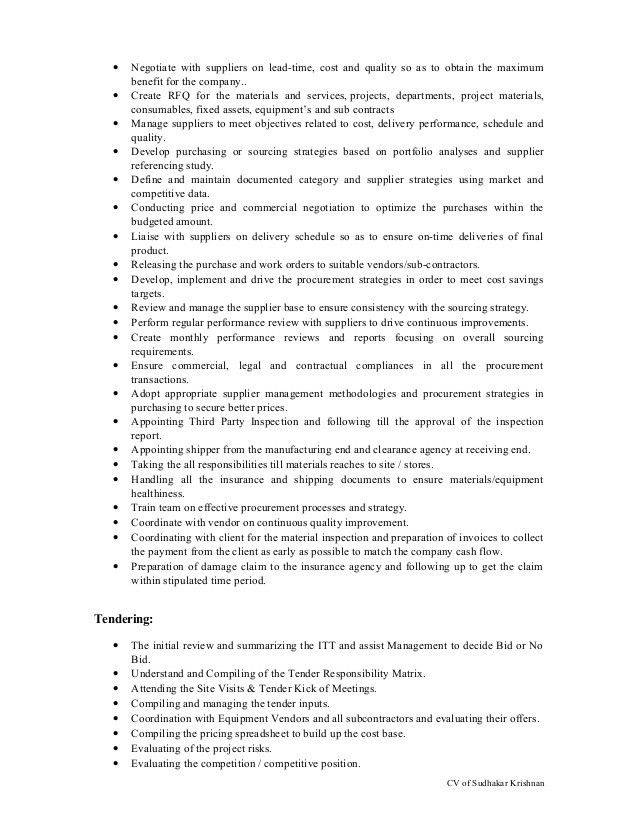 CV of Electrical Engineer - Projects with 7+ years experience in Proj…