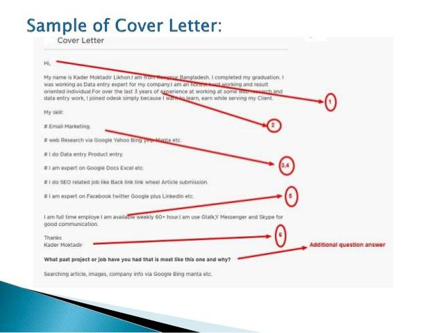 How to Submit cover letter on upwork.com & Freelancer.com