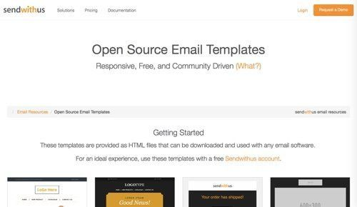 78 Free Responsive Email Templates | Practical Ecommerce