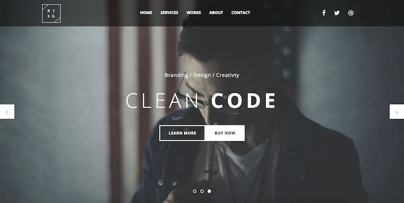 Top 10 Free Agency Website Bootstrap Templates in 2016.