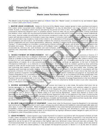 Lease Purchase Agreement. Rpa Ca - Residential Purchase Agreement ...