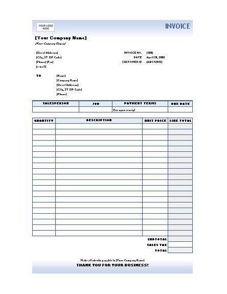 invoice template | Business Document | Pinterest | Invoice sample