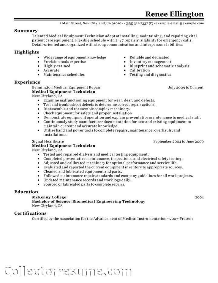 Health Administration Resume Examples #6246