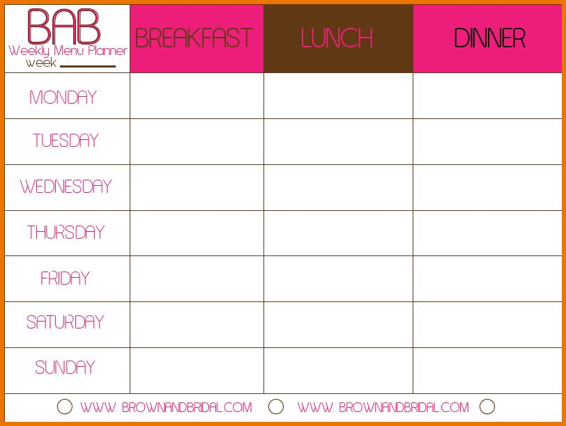 Meal Plan Template.weekly Meal Planner Template Vmtxmoxl.png ...
