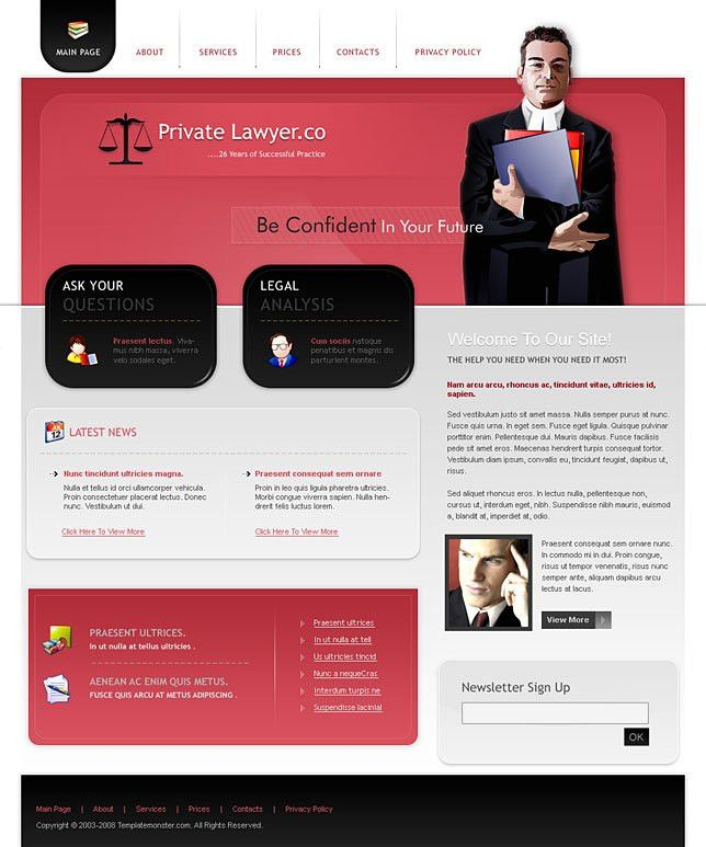 Wordpress templates download for professional companies