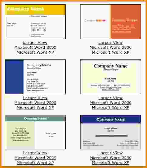 Free Business Cards Templates For Word.business Card Templates82 ...