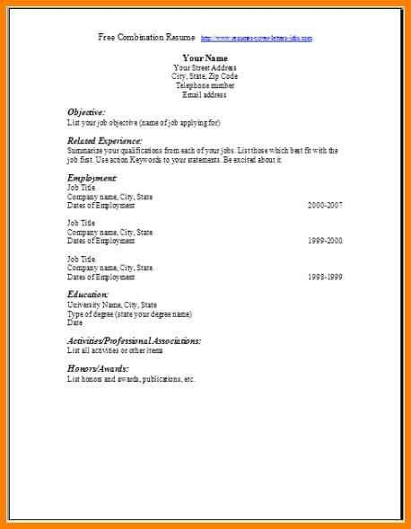 9+ blank resume template doc | cashier resumes
