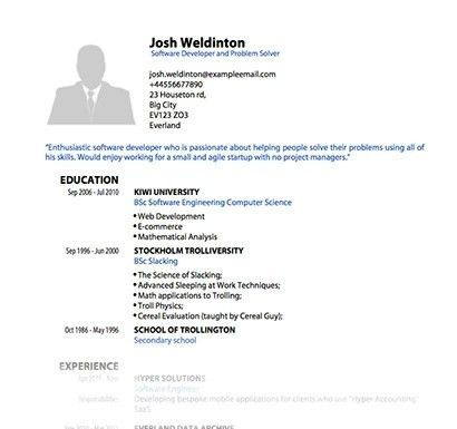 samples of resume pdf resume template for fresher 10 free word