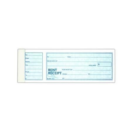 Buy Adams Money/Rent Receipt Book-Single With Stub ABF9641ABF in ...
