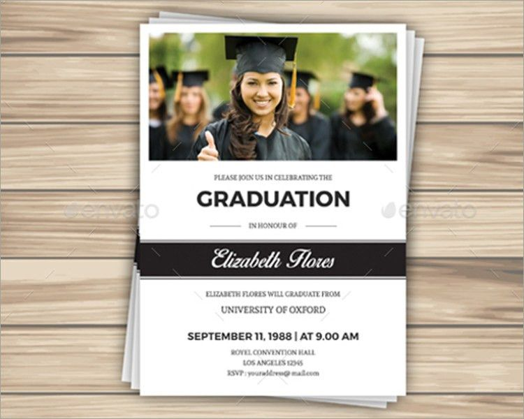 26+ Graduation Invitation Templates || Free & Premium | Creative ...