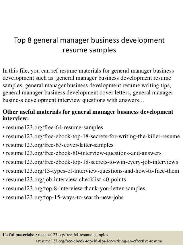 top-8-general-manager-business-development-resume-samples -1-638.jpg?cb=1432976960