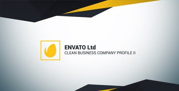 Clean Business Company Profile II by AdamFamily | VideoHive