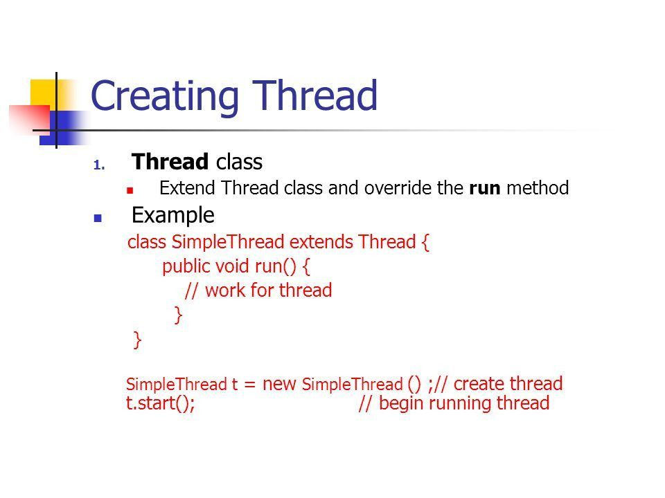 Multi-Threading in Java - ppt video online download