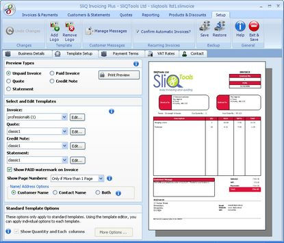 SliQ Invoicing and Quoting Plus - Free download and software ...